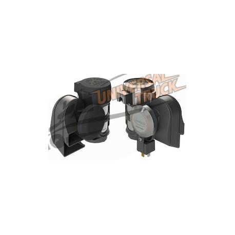 """Tromba compatta bitonale con compressore integrato """"TORNADO"""""""