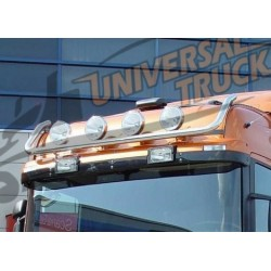 BULL BAR PORTAFARI DIAM 60 SCANIA R/1/2/3 CORTO HIGH LINE TUTTI (LED A PARTE EURO 17)