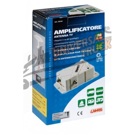 Amplificatore antenna TV, 12/24V