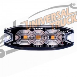 STROBO 3 LED ARANCIO 12/24 VOLT