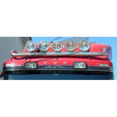 BULL BAR PORTAFARI DIAM 60 SCANIA CABINA BASSA CR19(LED A PARTE €15 ) SPECIFICARE MODELLO CAMION E ANNO