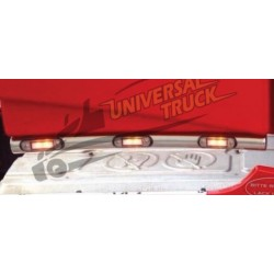 TUBI INFERIORI SPOILER VOLVO FH4 33,7 MM (LED A PARTE €15,00)
