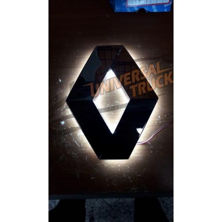 logo renault illuminato