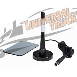 Antenna TV a stelo con ricezione digitale terrestre - 120 mm