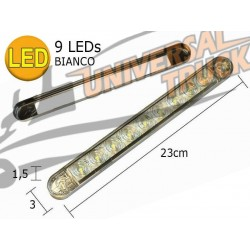 """FANALE LATERALE SIDE- MARKER """"FULL IMMERSION"""" 9 LED"""