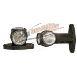 Luce d'ingombro SUPERPOINT III a LED sinistra/destra corta con cavo 1,5 m. led 24 Volts