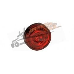Luce di posizione MONOPOINT II rossa a LED con profilo basso e cavo da 0,5m.