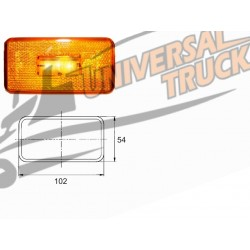 LUCE LATERALE A LED TIPO SCANIA