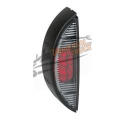 LUCE PERIMETRALE A 6 LED, 24V - BIANCO/ROSSO