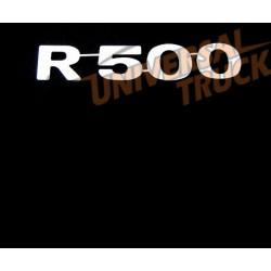 SCRITTA R500 INOX