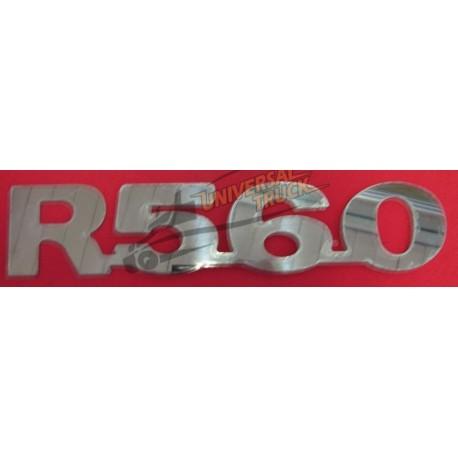 SCRITTA R560 INOX